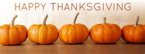 happy thanksgiving from Benham Insuance